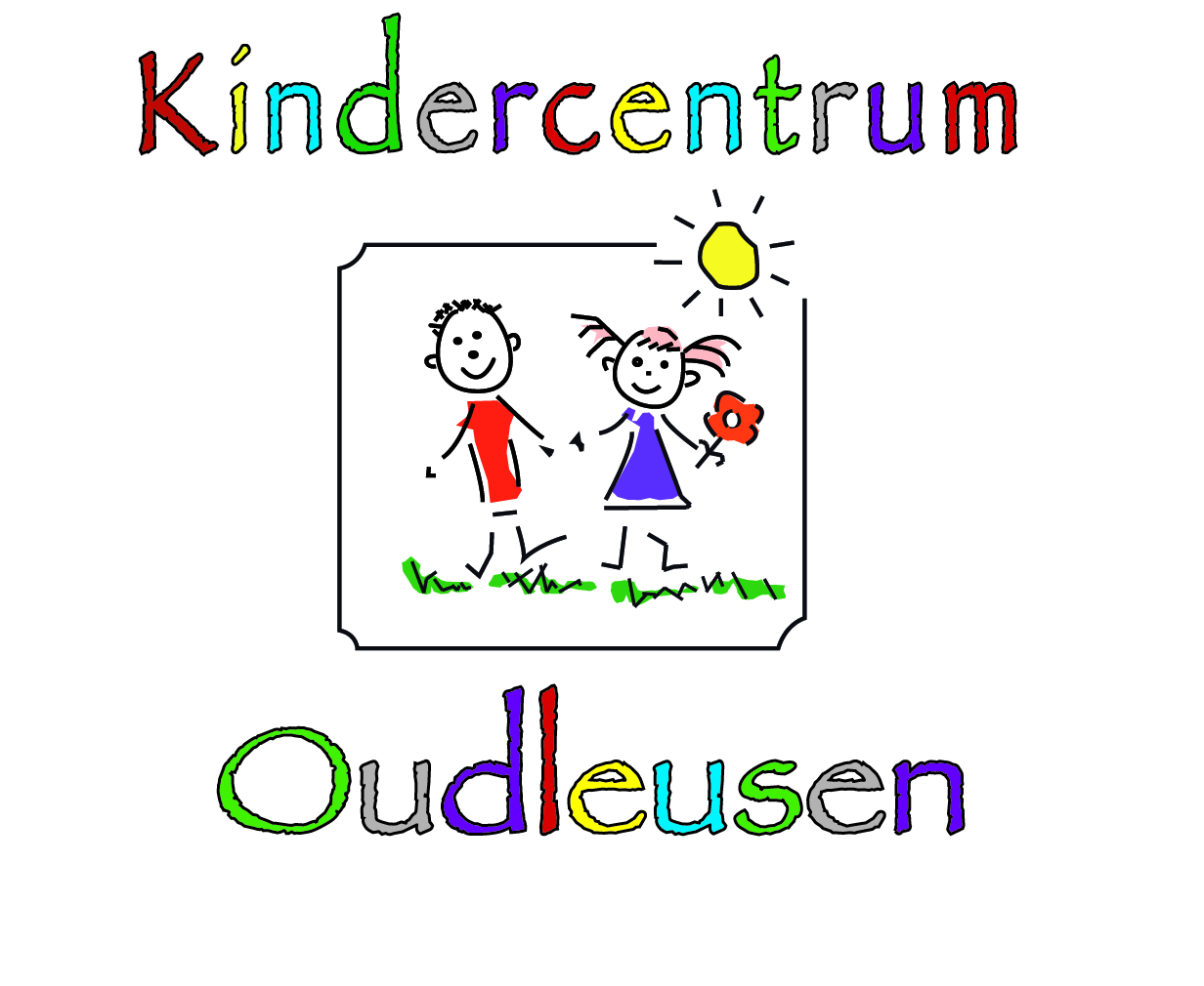 Kindercentrum Oudleusen met poppetjes